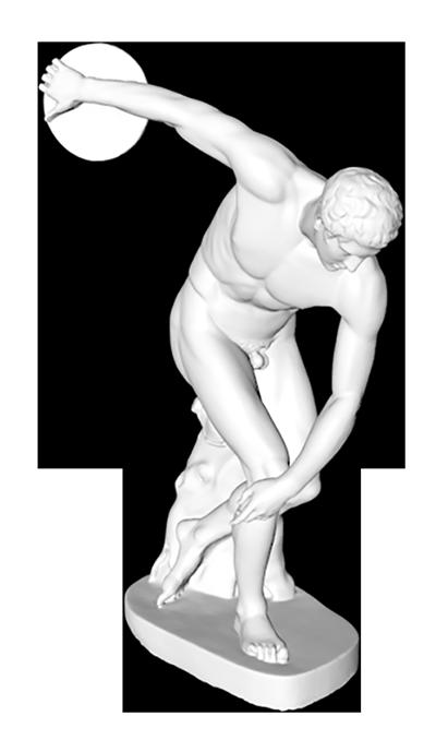 discobolo statua di mirone